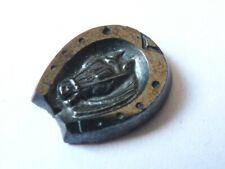 Sceau intaille camée Bijou ancien 19e siècle pour bague antic jewel fer à cheval