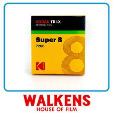 Kodak Tri-X 7266 B&W - 50ft Super 8 Film - FLAT-RATE AU SHIPPING!