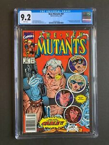 NEW MUTANTS #87, Marvel Comics, CGC 9.2 grade, 1st Cable, WHITE pages