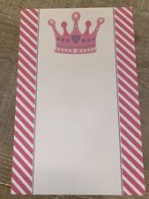 30 Princess Crown Blank Cards For Invitation Or Thank You Notes Birthday - New