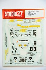"Porsche 956 ""New Man"" Lemans decals-Studio 27 1/24th scale"