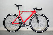 Airtrack Bikes Aluminum Frame 24/7 Single Speed Red Fixed Gear Fixie 53 cm