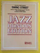 Swing Street, Barry Manilow, arr. Roger Holmes, Big Band Arrangement