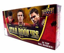 2015-16 Upper Deck Star Rookies Factory Sealed Hockey Box Set