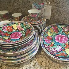 China Vintage Dining And Tea Set 36 Pieces