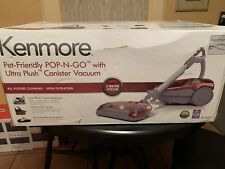 Kenmore Pet Friendly Pop-N-Go Vacuum with Ultraplush Canister in Red Mpn: Bc4027