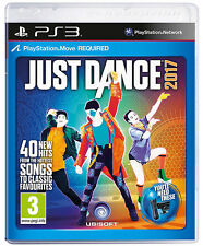 Just Dance 2017 PS3 * New & Sealed *