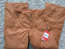 NEW THE NORTH FACE SALLY SNOW PANTS SNOWBOARD SKI PANTS WOMENS S ADOBE/RUST