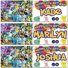 pokémon party banners buntings garlands ebay