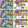 2 Personalised Pokemon Birthday Banner Children Kids Party poster decoration