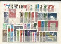 DDR  1957  postfrisch  komplett