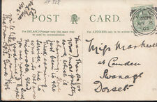 Family History Postcard - Markwell - at Camden, Swanage, Dorset  RF328