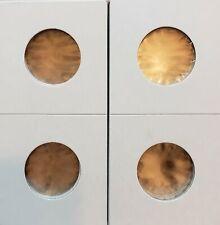 Guardhouse 2 X 2 Cardboard Staple Type Mylar Flips- Quarter Size