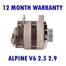 ALPINE V6 2.5 2.9 1985 1986 1987 - 1990 REMANUFACTURED ALTERNATOR