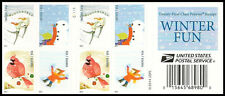 US 4940b Holiday Winter Fun forever booklet (20 stamps) MNH 2014
