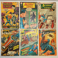 Vintage 1963 1967 1968 1970 1971 DC Comics Batman & Action Comics Superman Lot