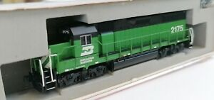Atlas N' EMD GP-38 Burlington Northern #2175 (NEW IN THE BOX FROM OLD INVENTORY)