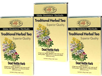 3 x 50g HILDE HEMMES HERBALS Dead Nettle Herb (150g) Traditional Herbal Tea