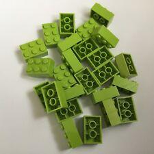 10 Lego Bausteine 2x6 Schwarz Neu Grundsteine Basic Steine 2456