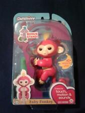 Lot of 5 FINGERLING BELLA  Random Color Authentic Interactive Monkey with Stand!