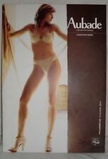 AUBADE Cardboard Stand POS Advertising Sexy Lingerie Nude, Carton Publicitaire