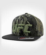 More details for ufc venum mma hat cap authentic fight night unisex walkout hat - camo khaki