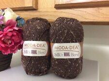 2 Moda Dea Silk n' Wool Blend Yarn Latte