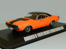 Fast and Furious Darden's 1970 Dodge Challenger RT Diecast Model Car Scale 1 43