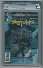 Batman Future's End #1 CGC 9.8 NM/MT 3-D Lenticular Cover DC The New 52 11/14