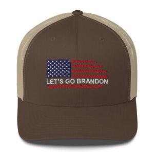 Let's Go Brandon Trucker Cap, Lets Go Biden Hat, FJB Hat, FU46 Hat, Anti Biden