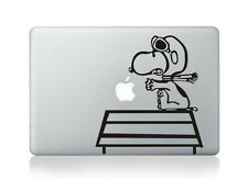 "Snoopy PILOT Macbook Sticker Viny Decal for Macbook Air/Pro/Retina 13""15""17"""