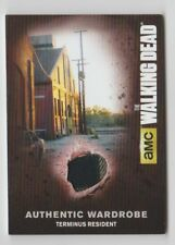 The Walking Dead AMC Costume Trading Card Terminus Resident M43