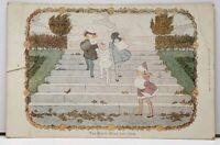 Nursery Rhyme The North Wind Doth Blow, Little Songs Of Long Ago Postcard H16