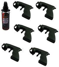 6 X AEROSOL PROFESSIONAL SPRAY GUN HANDLE PAINT APPLICATOR TRIGGER SATIN NEW