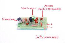 M596 Wireless microphone Ham FM radio transmitter wireless module 3v~5v 91~103MH