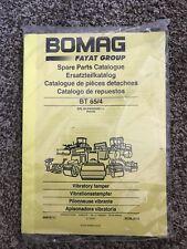 BOMAG 00818738 Parts Catalog BT 65/4 S/N 101540562051