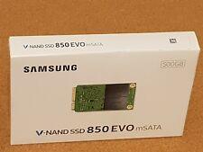 Samsung 850 EVO 500GB SSD mSATA MZ-M5E500BW SATA 6Gb/s (totalmente Nuevo Caja Sellada) -1