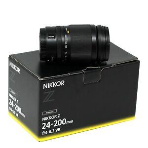 Nikon Z 24-200mm f/4-6.3 VR - UK NEXT DAY DELIVERY