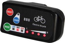 Electric Bicycle LED Display 880 Controller Panel 24V 36V