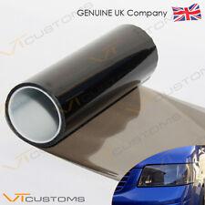 30 x 200cm MEDIUM Smoke Black Tint Film Headlights Tail lights Car Vinyl Wrap