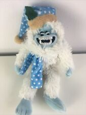 """Rudolph the Red Nosed Reindeer Abominable Yeti Snowman Plush Stuffed Animal 13"""""""
