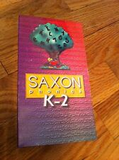 1999 SAXON Phonics K-2 Builds Foundation Skills Learning Education RARE Video