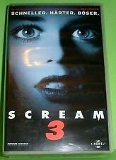 Scream 3 (VHS Kassette) Schneller. Härter. Böser.