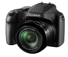 Panasonic LUMIX DC-FZ82 18.1MP 60x 4k Ultra Wide Bridge Camera, Black NEW