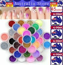 Mixed Colors Nail Art Glitter Powder Dust Acrylic UV Gel DIY Tips Decoration Set