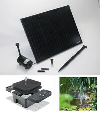 50W Solarpumpe Teich Pumpe Gartenteichpumpe Solar Tauchpumpe Filter Toskana NEU