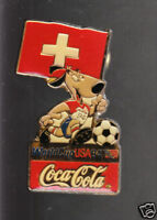 SWITZERLAND 1994 SOCCER WORLD CUP COCA-COLA FLAG PIN