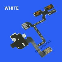 OEM White Headphone Audio Jack Volume Switch Flex Cable For iPhone 4 4G GSM AT&T