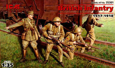 WW I BRITISH INFANTRY 1917-1918 #35301 1/35 ICM