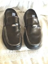 Cole Haan Nike Aire 6B Black Leather Loafer/Clogs Pewter Weight Details